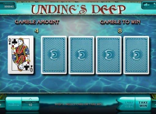 Раунд на умножение в игре Undine's Deep