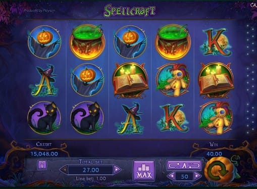 Символы онлайн игры Spellcraft
