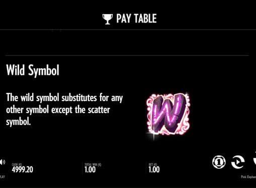 Описание дикого символа в Pink Elephants онлайн